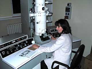 pracownia mikroskopii elektronowej