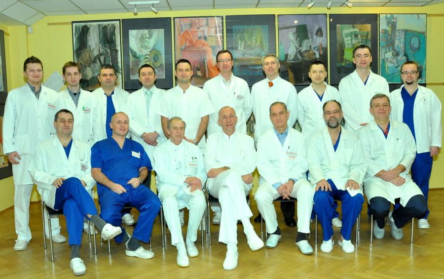 Pracownicy Katedry Chirurgii Ogólnej, Gastroenterologicznej i Onkologicznej