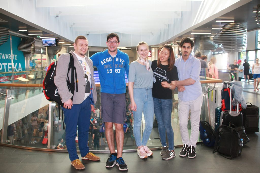 Uczestnicy Konkursu Wiedzy Anatomicznej Scapula Aurea 2017