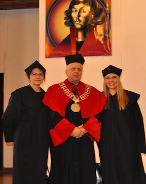 wręczenie tytułu doktora nauk medycznych