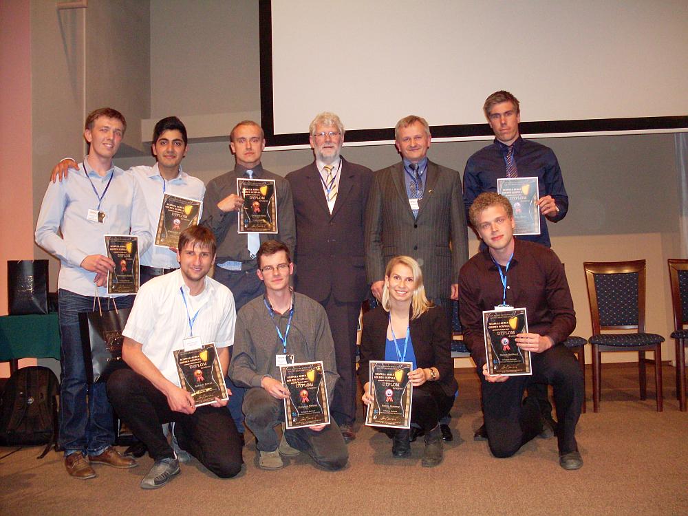 Uczestnicy Konkursu Wiedzy Anatomicznej Scapula Aurea 2014
